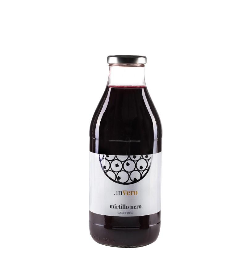 Succo di mirtillo nero - inVero - 250 ml.