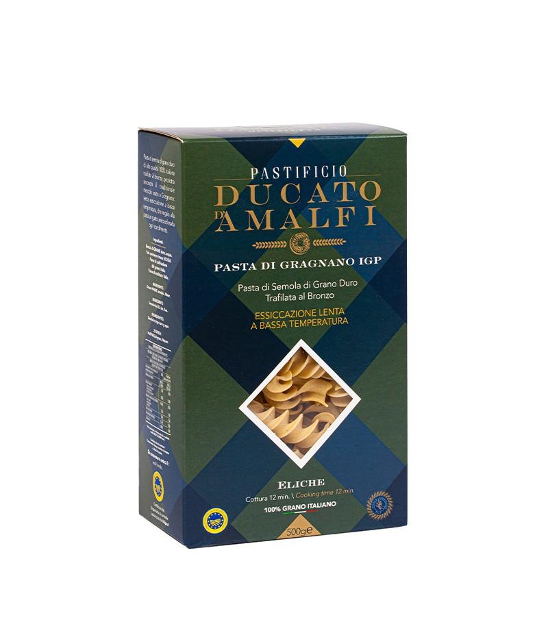 Eliche di pasta artigianale di semola di grano duro - Ducato D'Amalfi - 500 g.