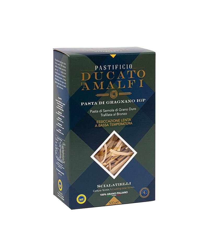 Scialatielli di pasta artigianale di semola di grano duro - Ducato D'Amalfi - 500 g.