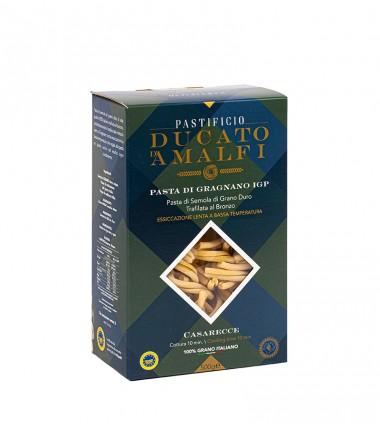 Casarecce di pasta artigianale di semola di grano duro - Ducato D'Amalfi - 500 g.
