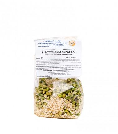 Risotti Pronti agli asparagi - Catella - 250 g.