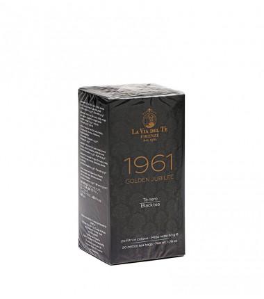 Tè nero Golden Jubilee 1961 - La Via del Tè di Firenze - in filtri di cotone