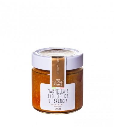 Marmellata biologica di arancia - Si può fare - 250 g.