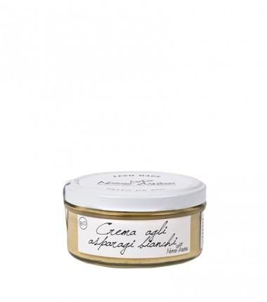Crema biologica agli asparagi bianchi - Nonno Andrea - 150 g.