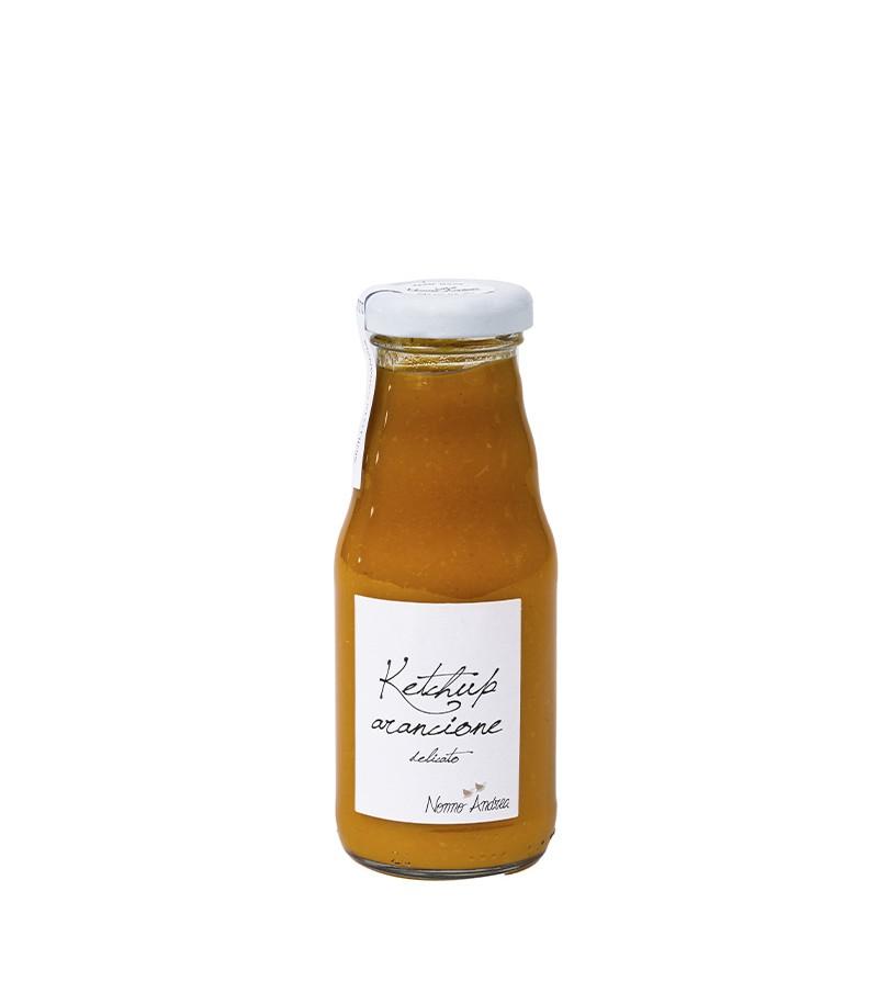 Ketchup arancione - Nonno Andrea - 200 g.
