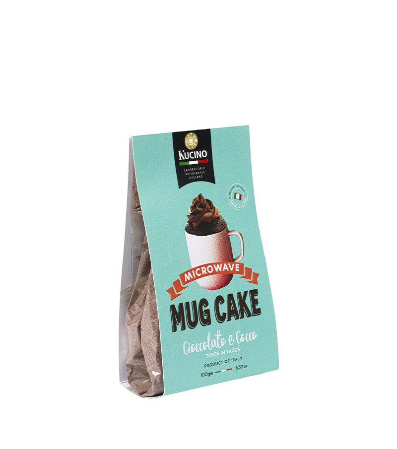 Mug Cake al cioccolato e cocco - Kucino - 100 g.