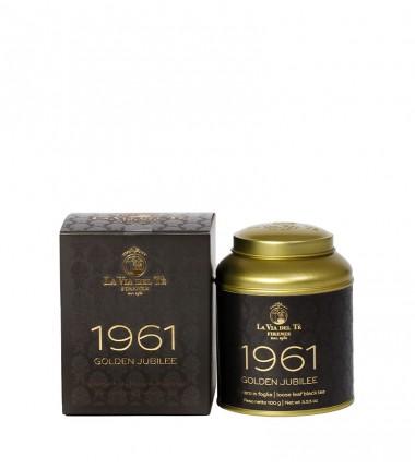 Tè nero Golden Jubilee 1961 - La Via del Tè di Firenze - latta da 100 g.