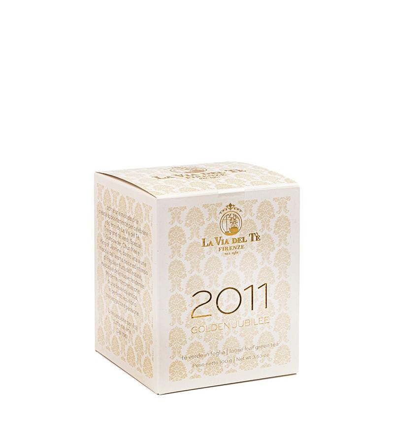 Tè verde Golden Jubilee 2011 - La Via del tè di Firenze - Latta da 100 g.