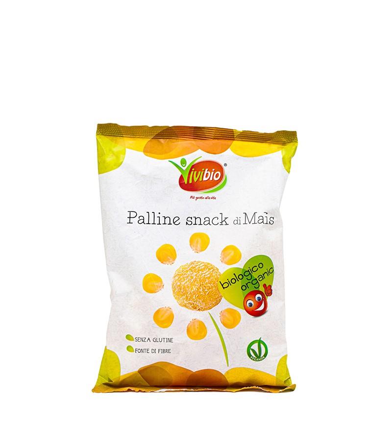 Palline snack di mais - Vivibio - 40 g.