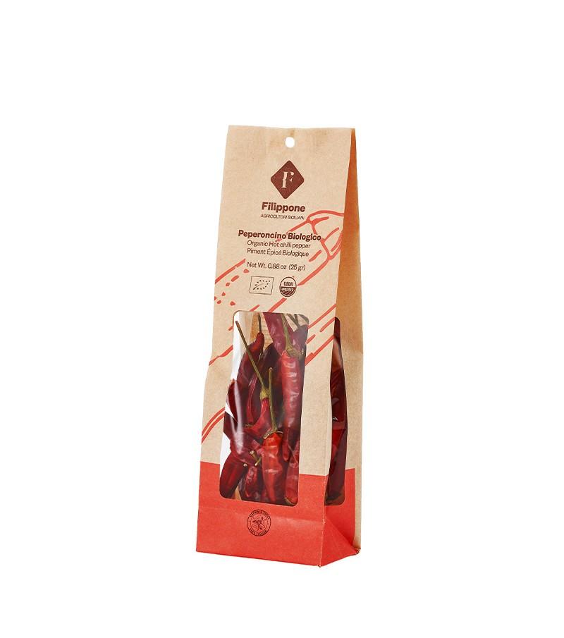 Peperoncino di Sicilia biologico - Filippone - 25 g.