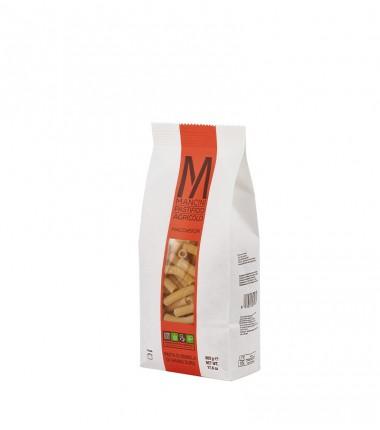 Maccheroni di pasta artigianale di semola di grano duro - Mancini - 500 g.
