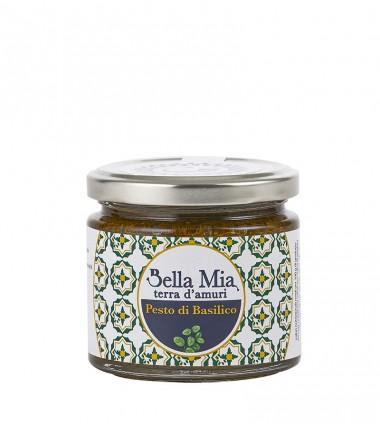 Pesto di basilico - Bella Mia Gourmet - 220 g.
