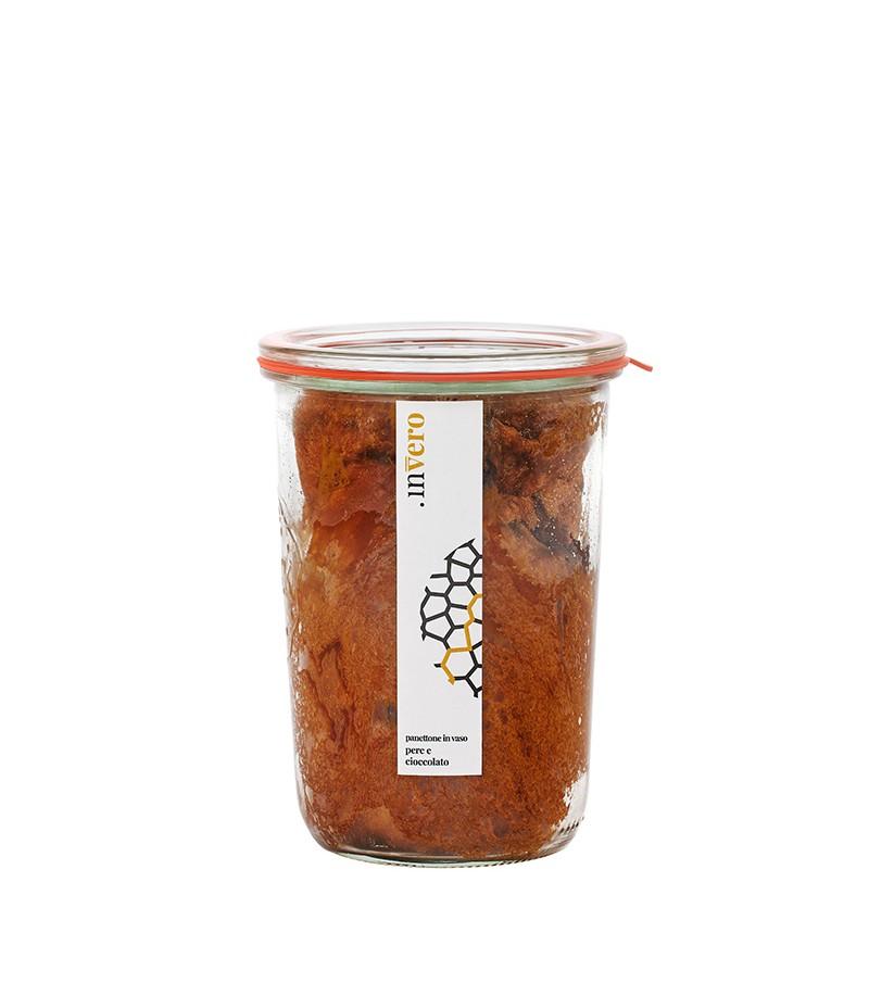 Panettone in vaso pere e cioccolato - inVero - 250 g.